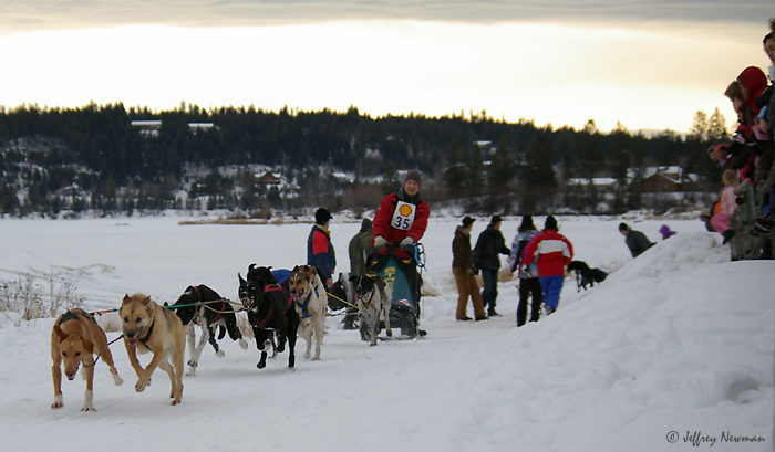 2010 Dog Sled Races around 108 and Sepa lakes